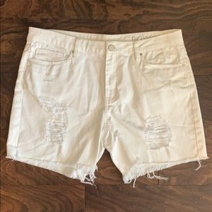 White Blank NYC shorts